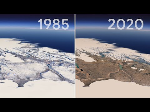 Google Earth Timelapse shows how planet has changed in past 37 years